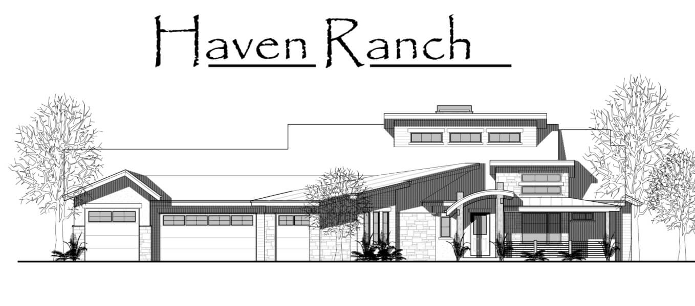 Haven Ranch Front View